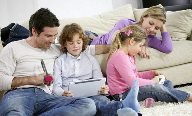 Digital Media- parents bond -children