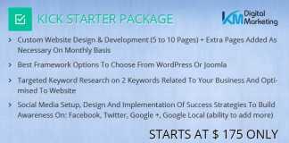 kick starter package