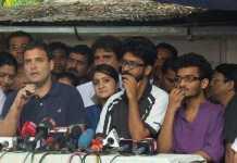 rahul_gandhi_ meets __ FTII