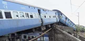 Twin derailment in Harda