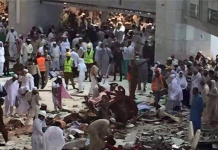 Crane Crash in Mecca