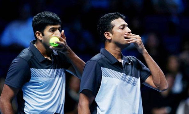Rohan bopanna, Leander Paes face off doubles in semi final
