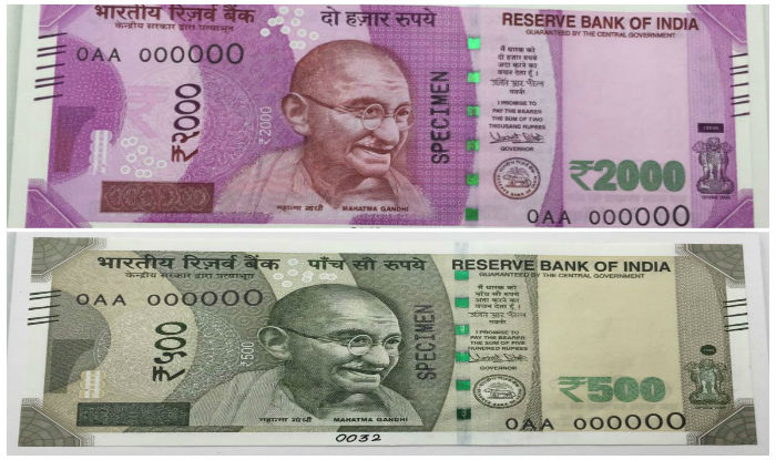 New note 500 Rs and 1000 Rs