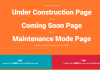 Complete Review of Under Construction Page Plugin Construction Page Wordpress Plugin