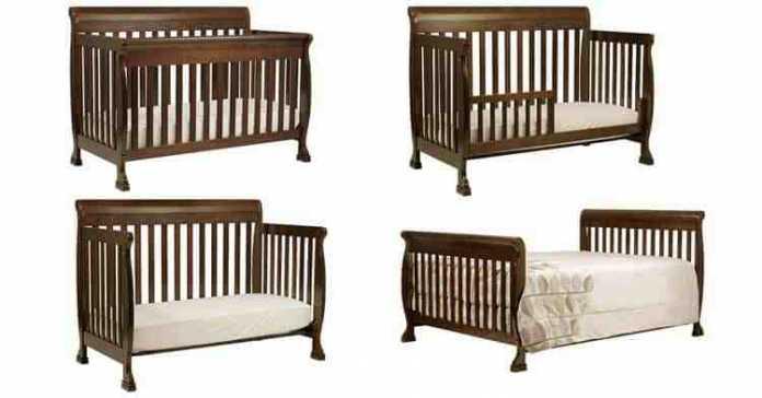 DaVinci Kalani 4 in 1 Convertible Baby Crib