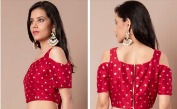 latest designer blouses