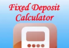 Calculating Interest on Fixed Deposits