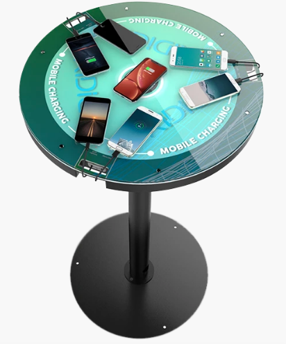 cocktail charging table